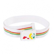 фото Ремень Enjoi Rasta Panda Web White