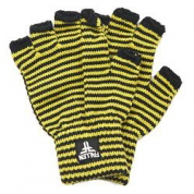 фото Перчатки мужские Fallen Mini Striped Fingerless Glove Black/Yellow